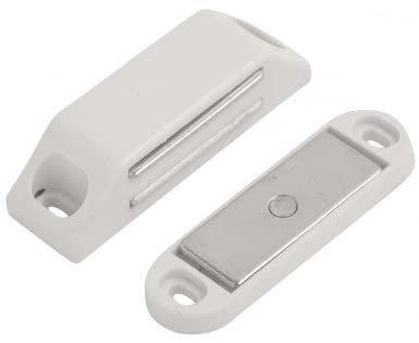 Magnetic Catch Medium 43x20mm White DX40018