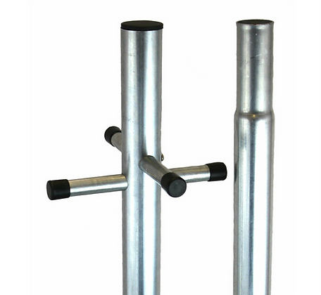 2.4mtr Galv Line Post / Clothes Pole Ref 1600