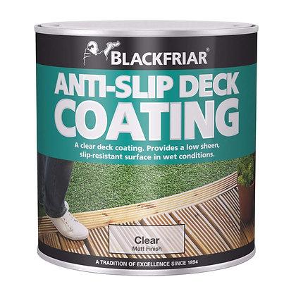 Blackfriar Anti slip Decking Stain Clear 2.5ltr