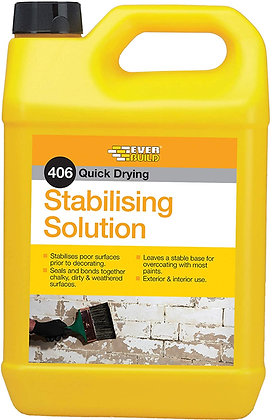 406 Everbuild Clear Stabilising Solution 5ltr STAB5