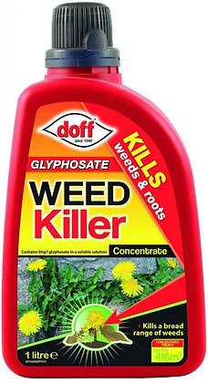 Glyphosate Weed Killer Concentrated 1 Litre