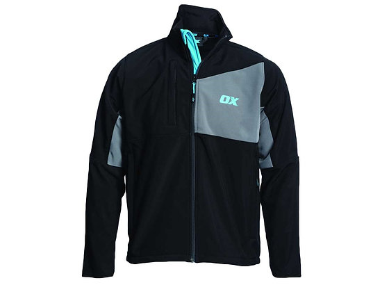Ox Softshell Black & Grey XL OX-W550105