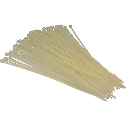 Cable Ties 2.5 x 100mm Natural WT4 Pack of 100