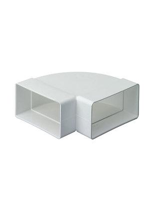 Flat Channel 90 degree Horizontal Bend White 53515067