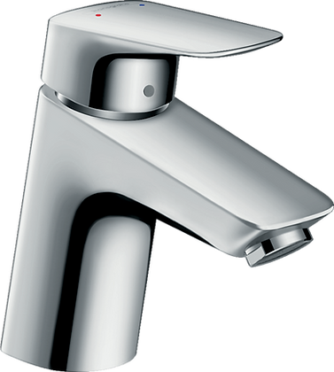 Hansgrohe Logis Single lever Basin Mixer 70 with Push-Open Waste