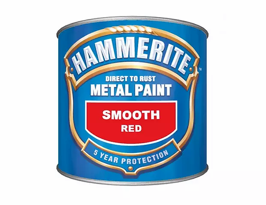 Hammerite Metal Paint 750ml SMOOTH RED