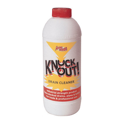 Knock Out Drain Cleaner 1 Litre 948ml CLE 50090276