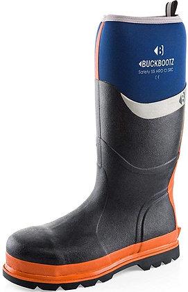 Buckbootz Safety Wellington Boot S5 Size 7 Blue BBZ6000BL