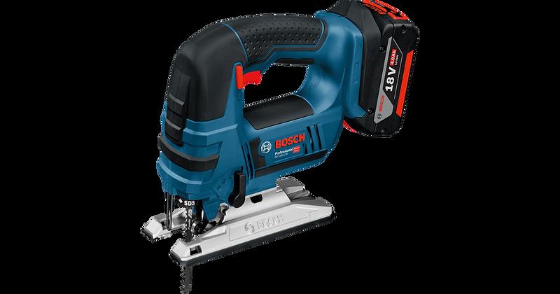 Bosch Jigsaw GST 18V-LIB 2x4-Ah L-Boxx 06015A6170920