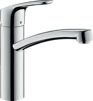 Hansgrohe Focus M41 Single Lever Kitchen Mixer 160, Single Spray Mode