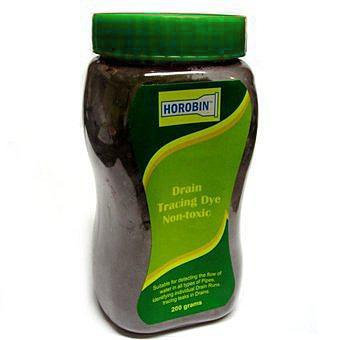 Drain Tracing Dye Green 200g Non Toxic