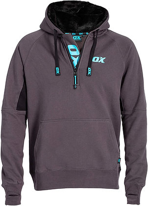 Ox Hoodie Black & Grey OX-W550405 XL EXTRA LARGE