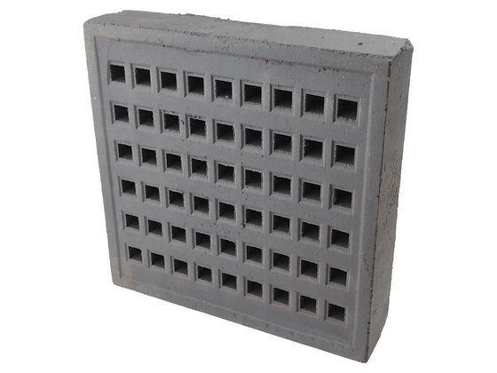 Air Brick 215x215mm Square Hole Blue YA18X