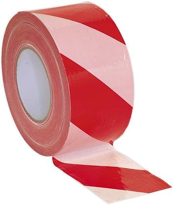 Barrier Tape Euro Red & White Stripe 500m SEWT9 764690