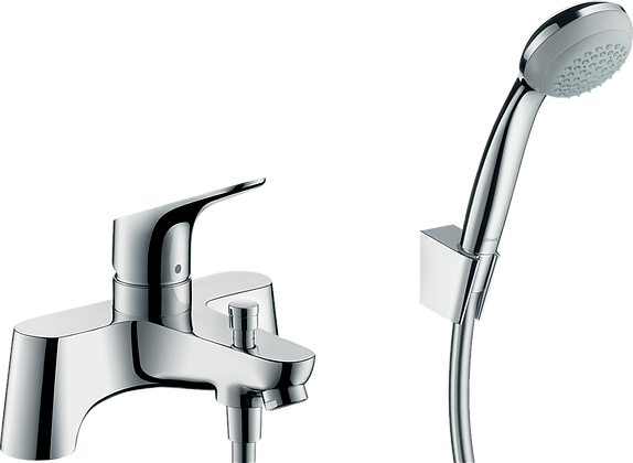 Hansgrohe Focus Rim Mounted Bath Shower Mixer Chrome