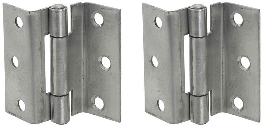 Hinge Stormproof 63mm Pair Of 1951 BZP Zinc Plated 1270