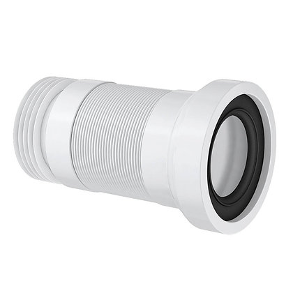 Flexible WC Pan Connector 100mm - 160mm WC-F18R 62035447
