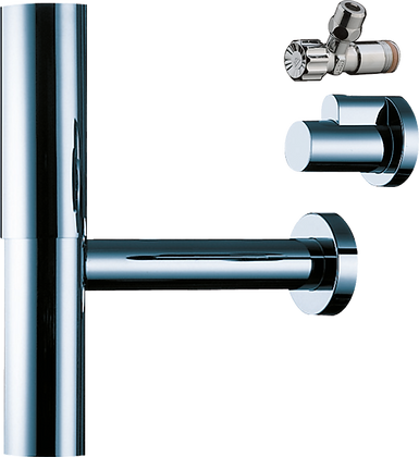 Hansgrohe Bottle Trap Flowstar with Angle Valves