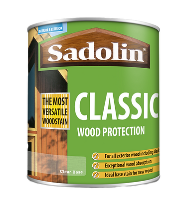 Sadolin Classic 1 Litre Clear Base 065
