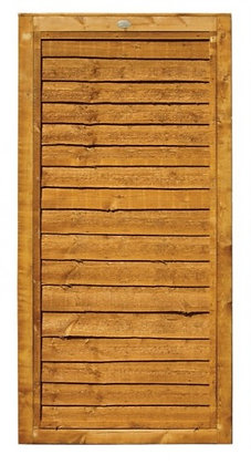 Timber Lap Panel Fence Gate 6ft x 3ft
