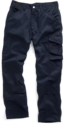 Scruffs Worker Trousers 36W Reg 31L Navy T54841
