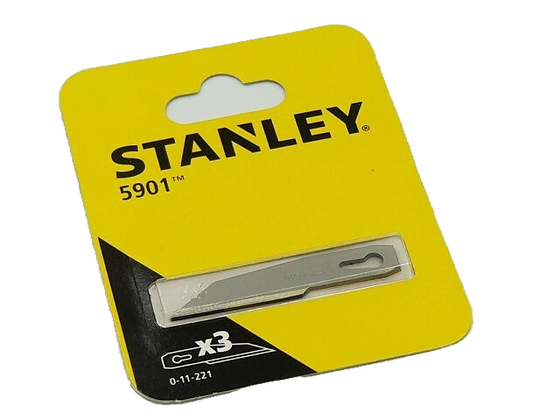 Stanley Pocket Blade Pack of 3 11221