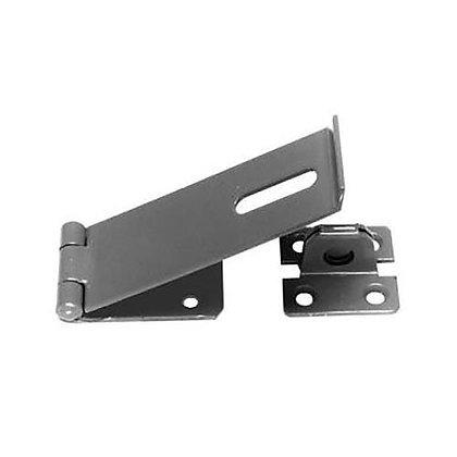 Hasp & Staple Heavy Duty Padlock Latch BZP Zinc 115mm 6206
