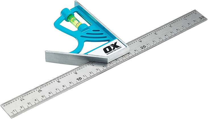 Ox Pro Magnetic Combination Square OX-P504530