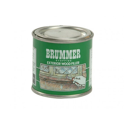 Brummer Stopping Exterior Wood Filler 250g Light Oak