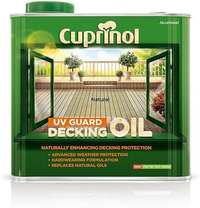Cuprinol Natural UV Decking Oil 2.5ltr Decking Oil