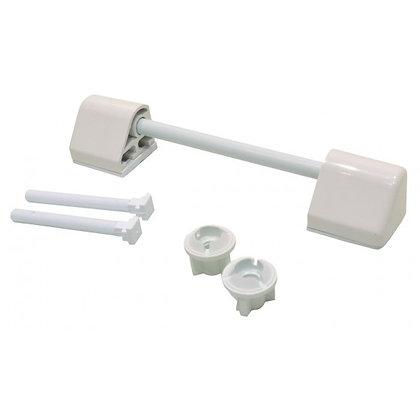 Toilet Seat Fixings White THW