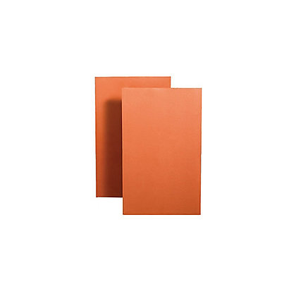 Clay Plain Nibless Creasing Tile Red 265 x 165 x 12mm