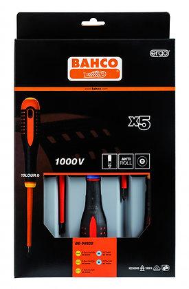 Bahco 5 Piece VDE Screwdriver Set BE-9882S