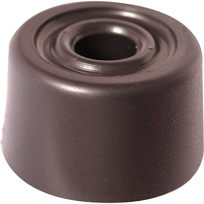 Black Rubber Door Stop 35mm DH00800