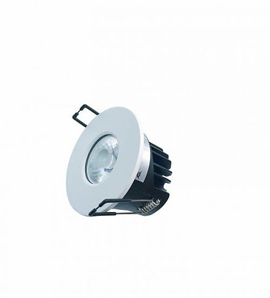 Dimmable Fire Rated Downlight IP65 QUARTZ-8 4000K 8W