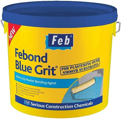 Febond Blue Grit Plasterer's Pregrit 5 Litres