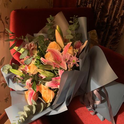 Post concert flowers