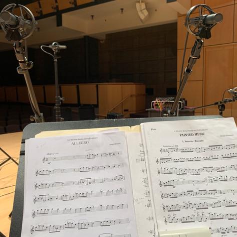 Recording session, 2019