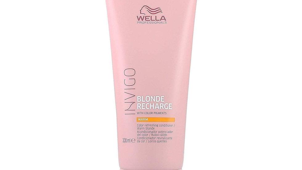 Wella Professionals Warm Blonde Recharge Conditioner, 200ml