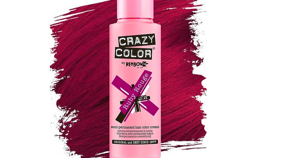 Crazy Color - Ruby Rouge, 100ml
