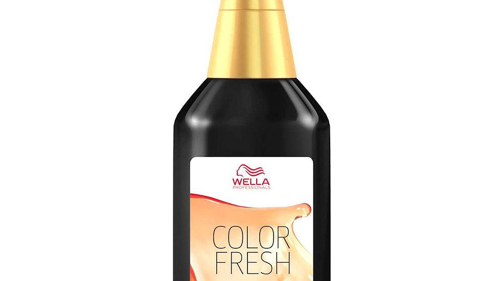 Wella Professionals Color Fresh Semi-Permanent Colour, 75ml MEDIUM-DARK SHADES
