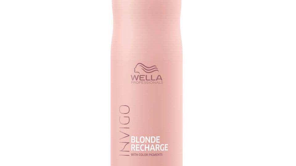 Wella Professionals Blonde Recharge Shampoo, 250ml