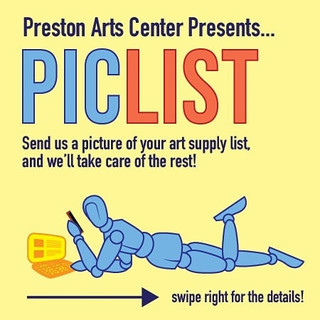 Preston Art Center PICLIST
