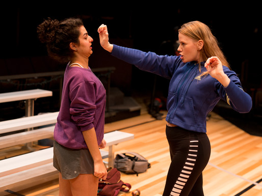 Actress as an Athlete: The empowerment of female physicality in theatre