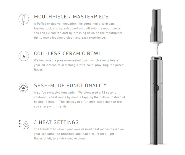 Best Concentrate Pen 2020 Need a new portable wax pen? Check out the Puffco Plus!