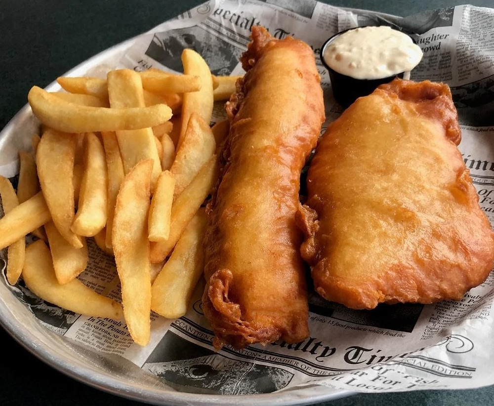 Nicki's Bella Marina - Fish & Chips - 2020 Cannabis Solutions' 10 Best Takeout Spots in Bellingham