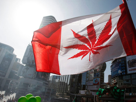 Canada's first day of legal Cannabis