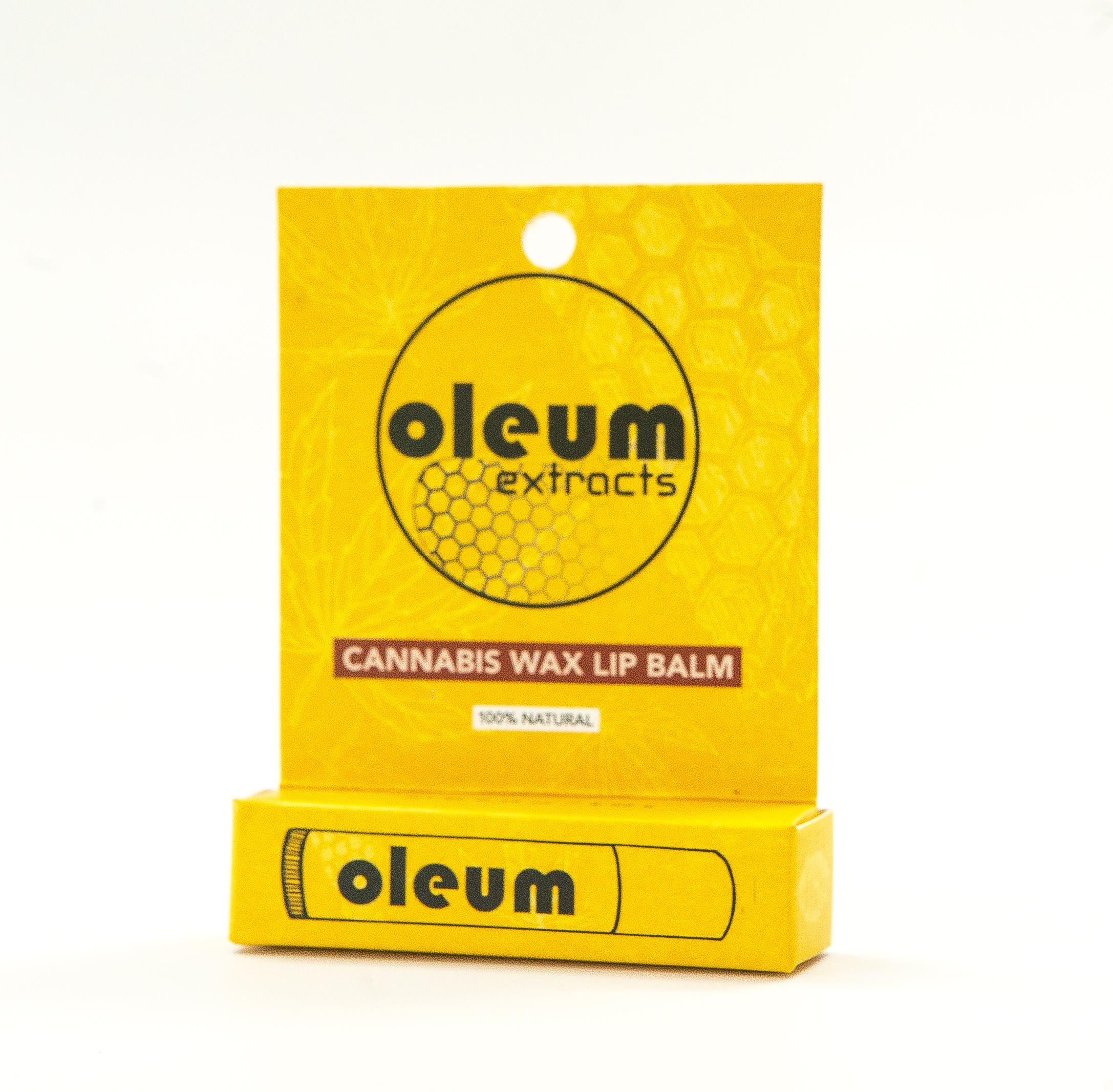 Cannabis Wax Lip Balm