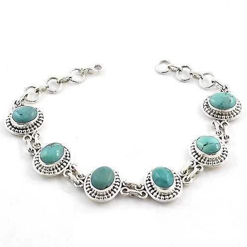 Bhakti Turquoise Bracelet