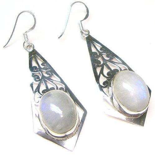 Moonstone Athena Devine Earrings